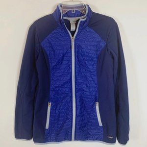 Champion Ladies Blue Zip Front Jacket Size XL